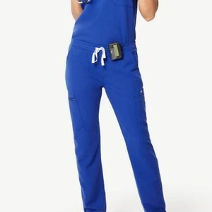 Fig yola pants only royal blue